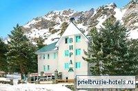 Отель «Вираж», поляна Азау.