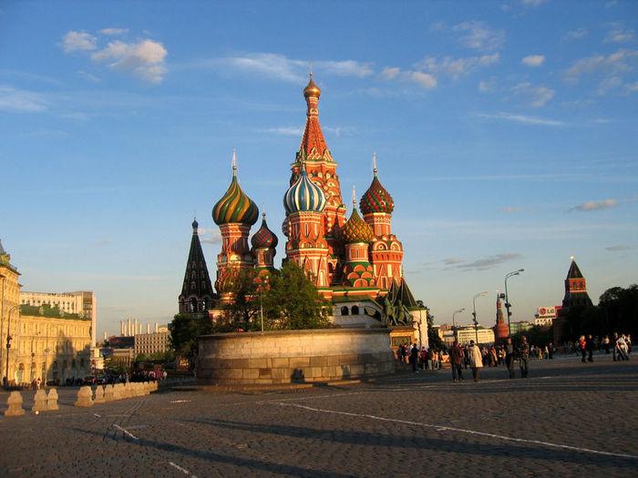 Экскурсионные туры в Москву