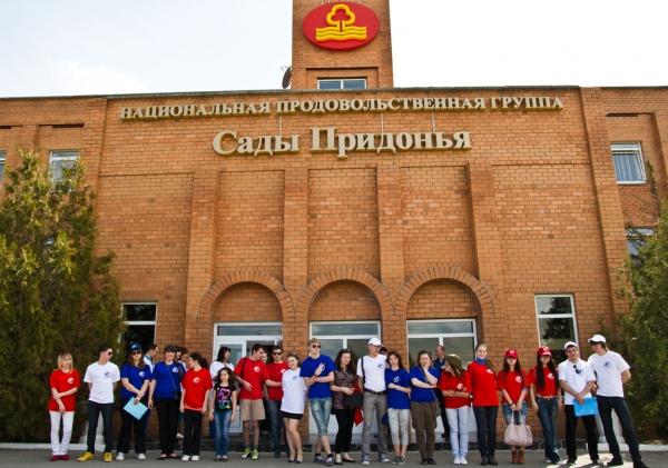 Экскурсия на производство соков «Сады Придонья»