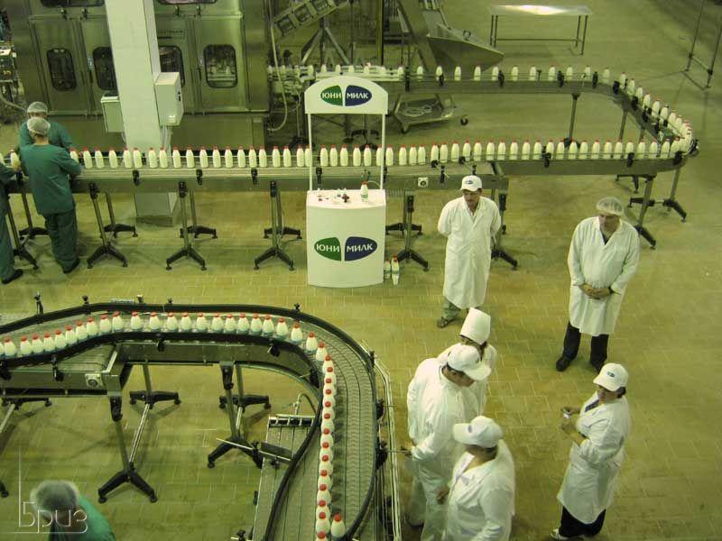 Экскурсия на завод молочной продукции « Юнимилк»