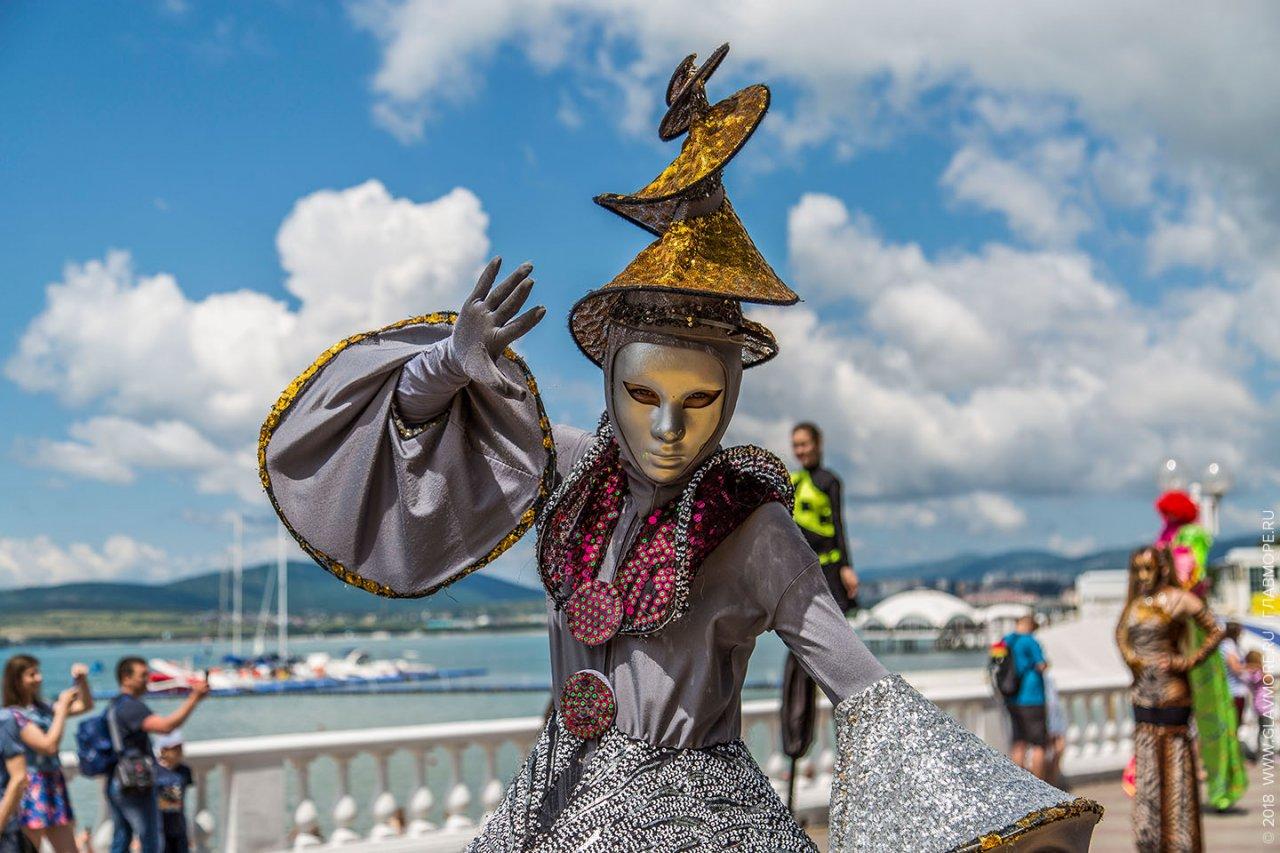 Карнавал в Геленджике с 03.06 по 07.06.2021г.